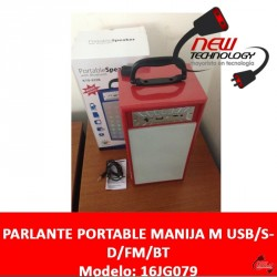 Parlante Bluetooth Portable Bateria Bluetooth Fm Sd Usb