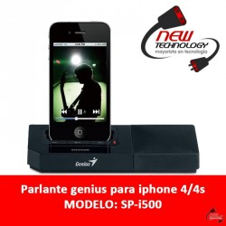 Parlante Genius Sp-i500 3w Para Iphone 4/4s