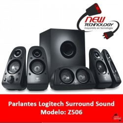 Parlantes Logitech Surround Sound Speakers Z506
