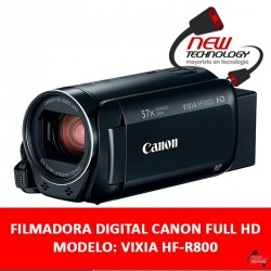 Video Camara Filmadora Digital Canon Full Hd Lcd Tactil 3,0