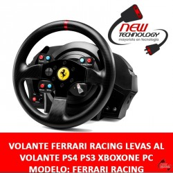 Volante Ferrari Racing Levas Al Volante Ps4 Ps3 Xboxone Pc