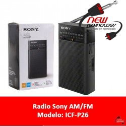 Radio Vertical Sony Portatil Con Altavoz