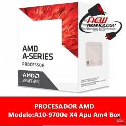 Cpu Amd A10-9700e X4 Apu Am4 Box