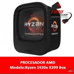 Cpu Amd Ryzen 1920x X399 Box