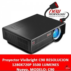 Proyector Vivibright Gp90 Resolucion 1280x720p 3500 Lumenes