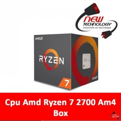 Cpu Amd Ryzen 7 2700 Am4 Box