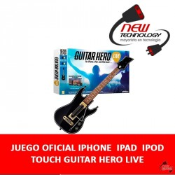 JUEGO OFICIAL IPHONE / IPAD / IPOD TOUCH GUITAR HERO LIVE