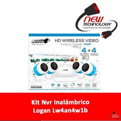 Kit Nvr Inalámbrico Logan Lw4an4w1b