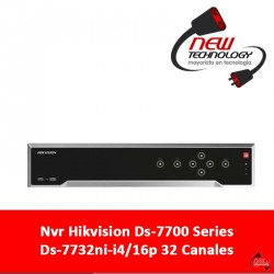 Nvr Hikvision Ds-7700 Series Ds-7732ni-i4/16p 32 Canales
