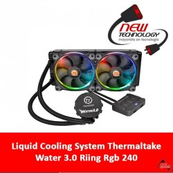 Liquid Cooling System Thermaltake Water 3.0 Riing Rgb 240