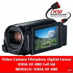 Video Camara Filmadora Digital Canon VIXIA HF-R80 Full Hd