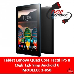 Tablet Lenovo Quad Core Tactil IPS 8 16gb 1gb 5mp Android 6