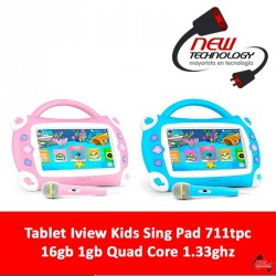 Tablet Iview Kids Sing Pad 711tpc 16gb 1gb Quad Core 1.33ghz