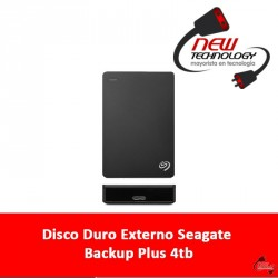 Disco Duro Externo Seagate Backup Plus 4tb