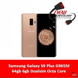 Samsung Galaxy S9 Plus G965fd 64gb 6gb Dualsim Octa Core