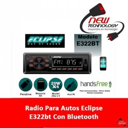 Radio Para Autos Eclipse E322bt Con Bluetooth