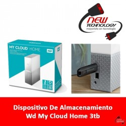 Dispositivo De Almacenamiento Wd My Cloud Home 3tb