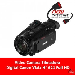 Video Camara Filmadora Digital Canon Vixia Hf G21 Full Hd