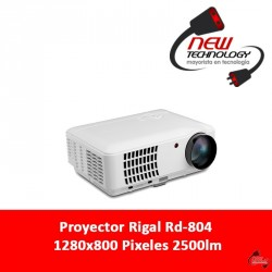 Proyector Rigal Rd-804 1280x800 Pixeles 2500lm