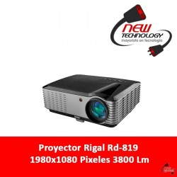 Proyector Rigal Rd-819 1980x1080 Pixeles 3800 Lm