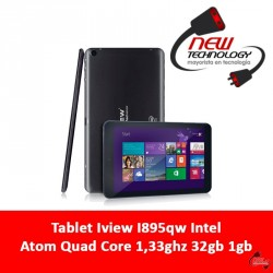 Tablet Iview I895qw Intel Atom Quad Core 1,33ghz 32gb 1gb