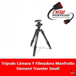Trípode Cámara Y Filmadora Manfrotto Element Traveler Small