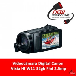 Videocámara Digital Canon Vixia Hf W11 32gb Fhd 2.5mp