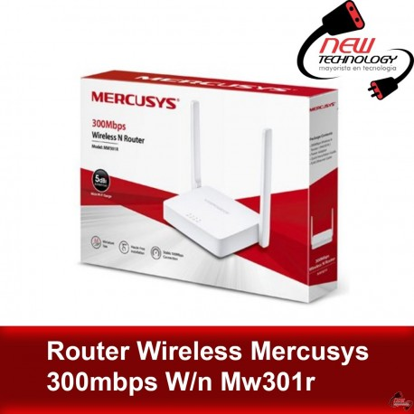Router Wireless Mercusys 300mbps W/n Mw301r