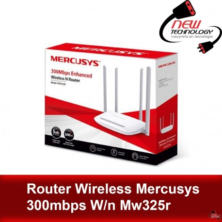 Router Wireless Mercusys 300mbps W/n Mw325r
