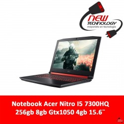 Notebook Acer Nitro I5 7300hq 256gb 8gb Gtx1050 4gb 15.6¨