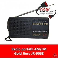 Radio AM/FM Gold Jinru JR-9068