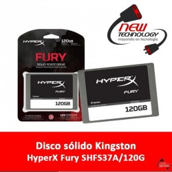 Disco sólido Kingston HyperX Fury SHFS37A/120G