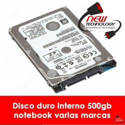 Disco 500gb para notebook varias marcas