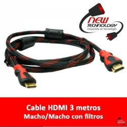 Cable HDMI 3mts