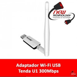 Adaptador wifi USB Tenda U1 300mbps