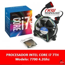 Procesador Intel Core I7 7700 4.2ghz 4 Nucleos Socket 1151