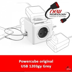 Powercube original USB 1203gy Grey