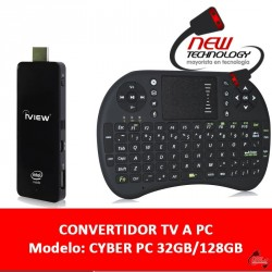 Smart Tv Box C/teclado Quad Core 2gb Full Hd 32gb/128gb Win8