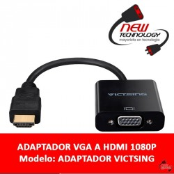 Adaptador Conversor Vga A Hdmi Conecta Tu Pc O Notebook A Tv