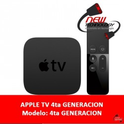 Apple Tv 4ta Generacion Hdmi Hace Tu Tv Smart Ios Iphone