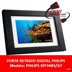 Porta Retrato Digital Philips Pantalla 8 Sd Control Remoto