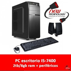 PC escritorio i5-7400 2TB 8gb ram