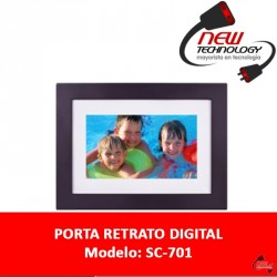 Porta Retrato Digital Pantalla 7 Led 800x480p