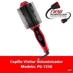Cepillo Vivitar Voluminizador Para Cabello Natural Brillante