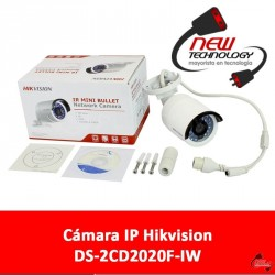 Cámara IP Hikvision DS-2CD2020F-IW Wi-Fi