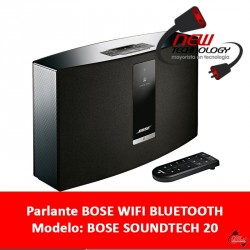 Parlante Bose Soundtouch 20 Wifi Bluetooth Aux Usb 220v