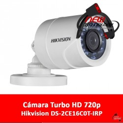 Cámara Turbo HD Hikvision DS-2CE16C0T-IRP
